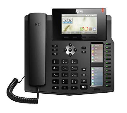 Fanvil telefoon met 60 DDS keys