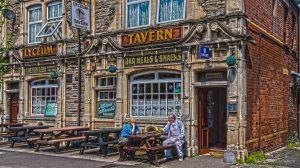 Lyceum tavern in Newport