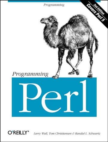 Livre programmer en Perl