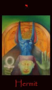 tarot eight earth, major arcana