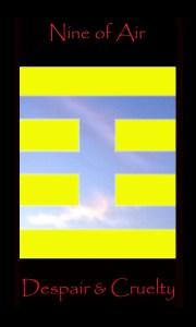 Gemini. Nine of Air, Nine of Swords rules the second decan of Gemini