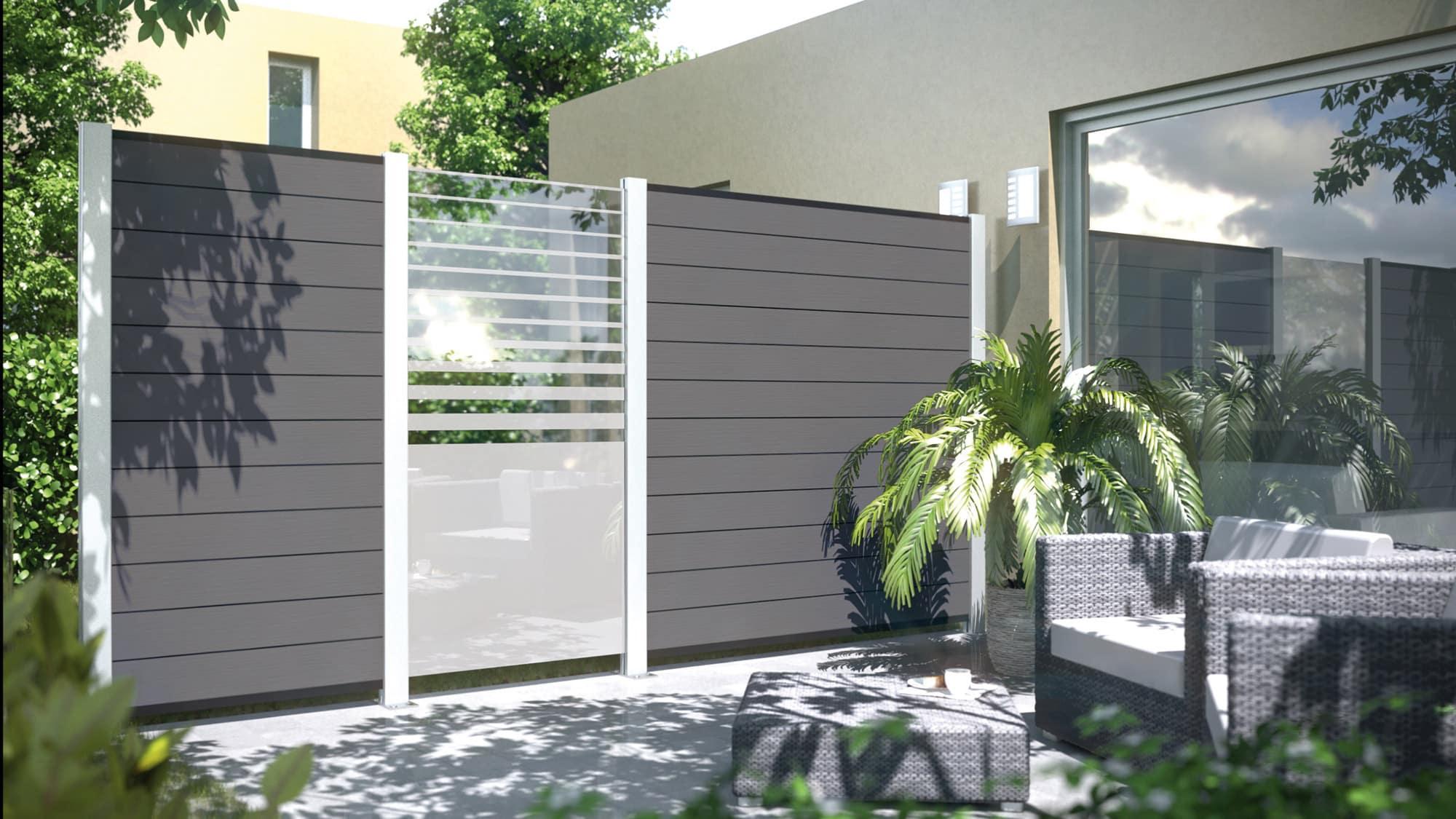 Gartenzaun Sichtschutz Kunststoff – siddhimindfo