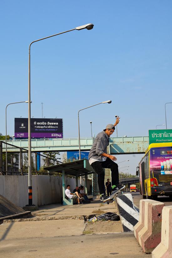 Rogue Mag Skate Geng Jakkarin signs to Billabong Asia