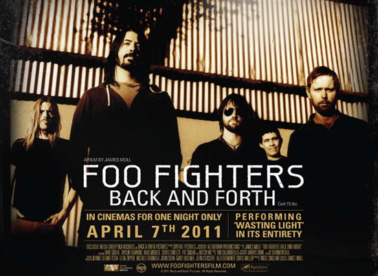 Rogue Mag Music Foo Fighters Back and Forth documentary