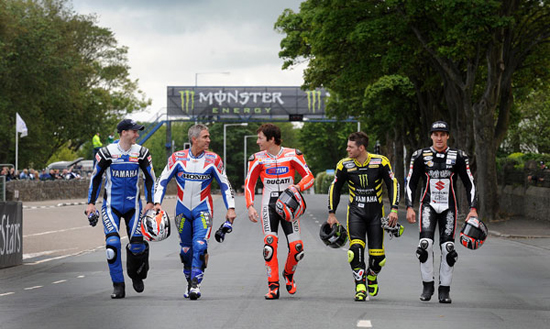 Rogue Mag Motorsport Isle of Man TT 2011 MotoGP Stars