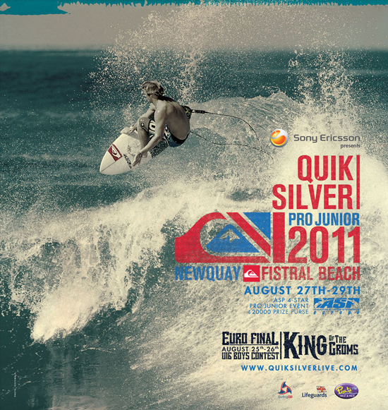 Rogue Mag Surf QUIKSILVER PRO JUNIOR & EUROPEAN KING OF THE GROMS FINAL COMES TO NEWQUAY THIS AUGUST
