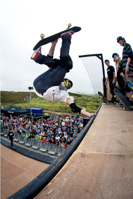 Rogue Mag Festivals Relentless Energy Drink in association with Vans Boardmasters 2011