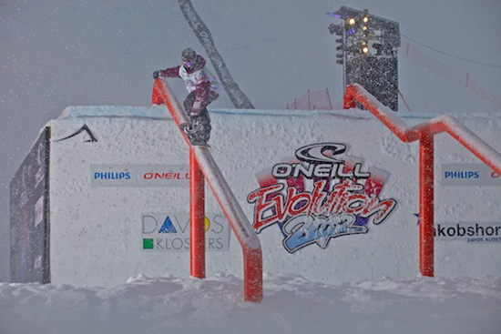 Rogue Mag Snow - O'Neill Evolution 2012 Davos Big Air Men Heat 3 Quali