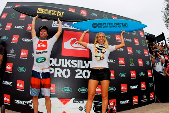 Rogue Mag Surf - Burrow and Gilmore Claim Quiksilver and Roxy Pro Gold Coast, Take ASP World Title Race Leads