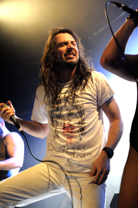 Rogue Mag Music - Andrew WK live at the Academy, Dublin