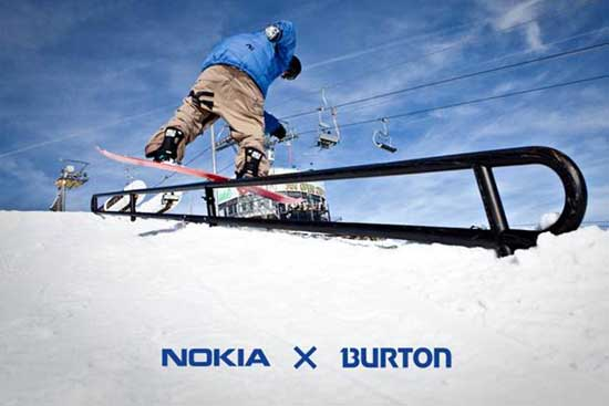 Rogue Mag Snow - Get creative for the Nokia X Burton snowboarding video competition!