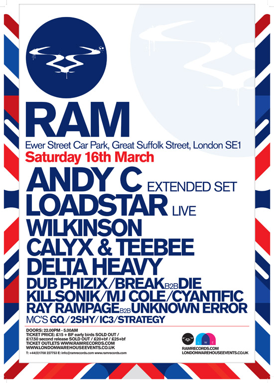 Rogue Mag Music - Ram - London Warehouse Party