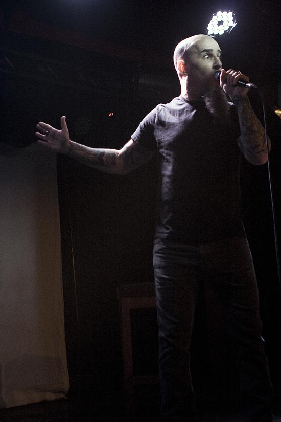 Rogue Mag Music - Scott Ian word tour - Manchester Sound Control