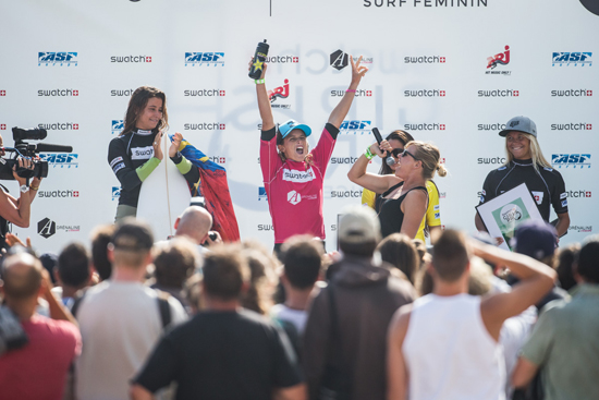 Rogue Mag Surf - Birthday Girl Courtney Conlogue Celebrates Back-to-Back Wins in France
