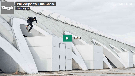 Rogue Mag Skate - Phil Zwijsen's Time Chase