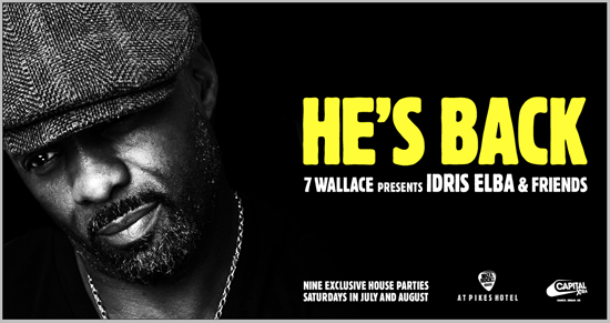 Rogue Mag Music - 2 Wallace presents Idris Elba & Friends