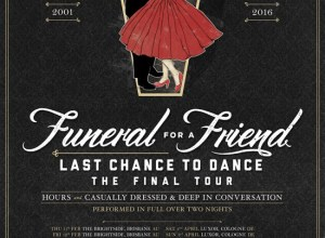 Rogue Mag Music - Funeral For A Friend announce 'Last Chance To Dance' Tour