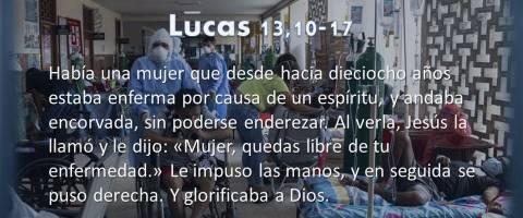 quedas libre – Lucas 13,10-17