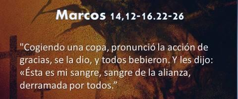Marcos 14,12-16.22-26 – sangre de la alianza