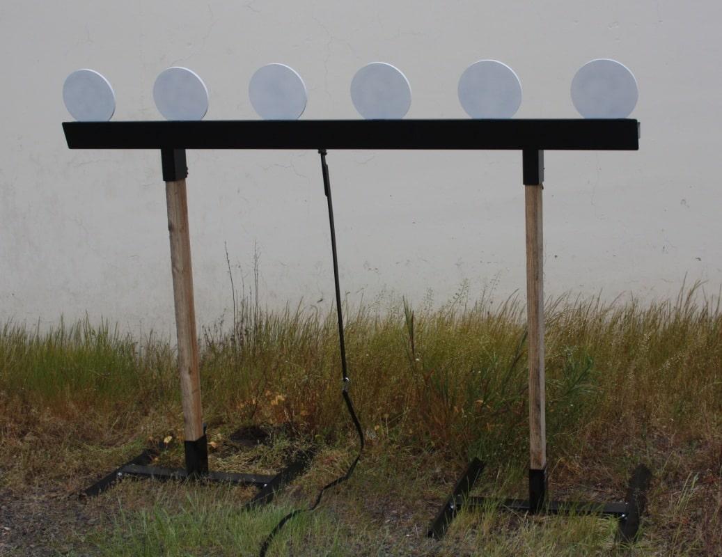 ar550 steel plate rack target