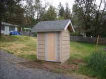 Removable Well Pump House Shed