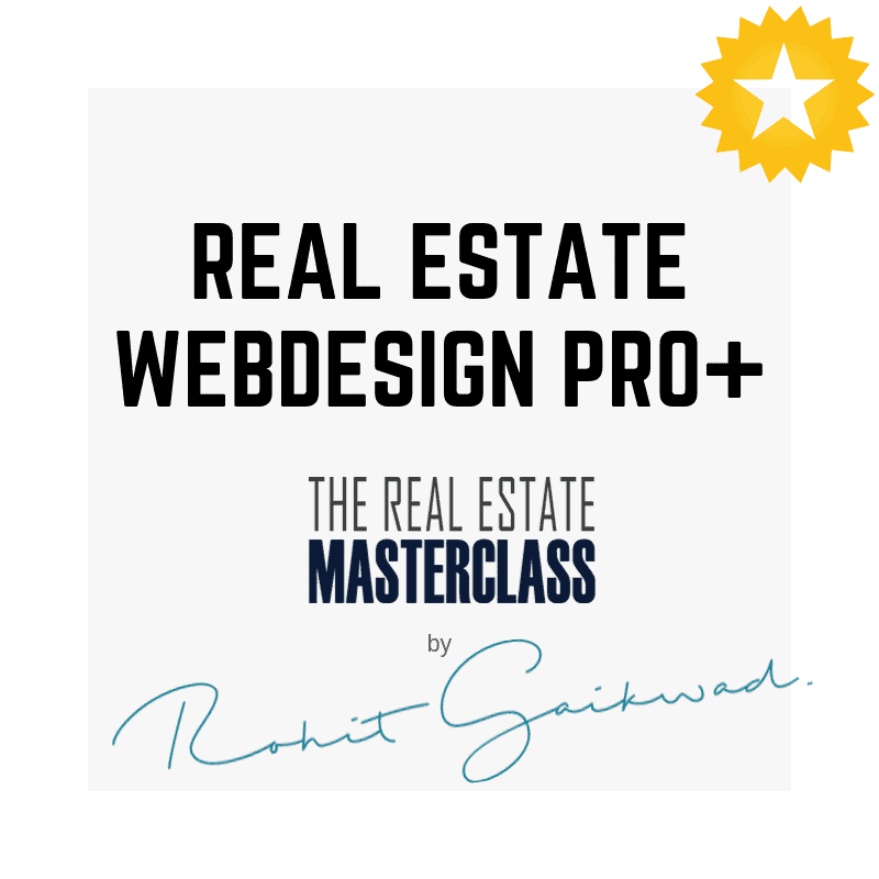 real estate Web design by rohit gaikwad