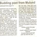 Budding poet from Mulund, Rohit N Shetty