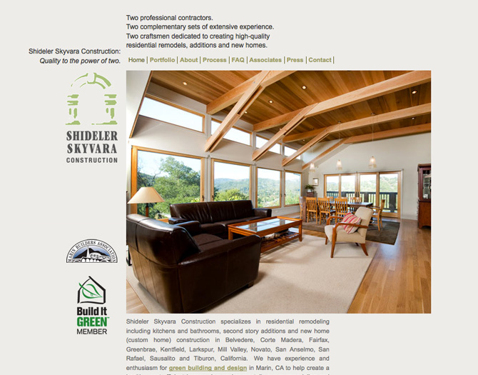 Marin County Construction | Remodeling