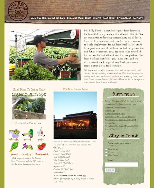 Large Organic Farm