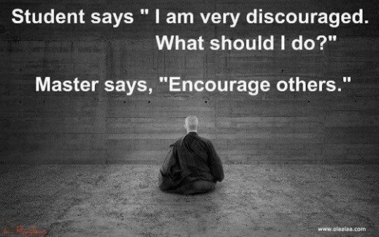 Discouraged by Others