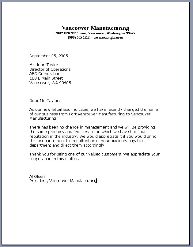 how to make a business letterhead