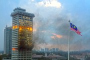 Towering Inferno Of Evidence - Bukit Aman On Fire!