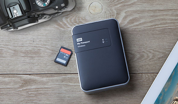 WD is giving away FOUR of these WD My Passport Wireless drives!
