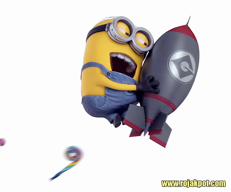 Minions LOVE bombs!