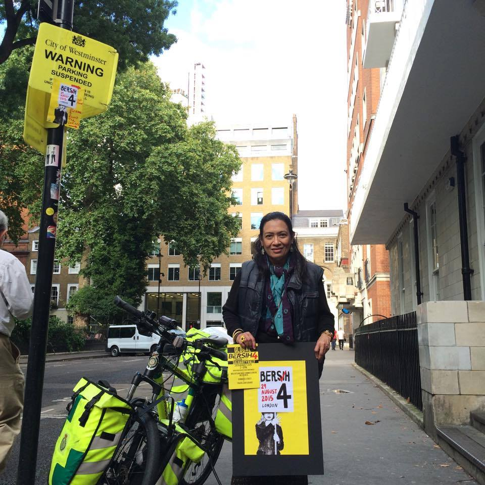 Mariam Mokhtar will be at Bersih 4 in Westminster, UK