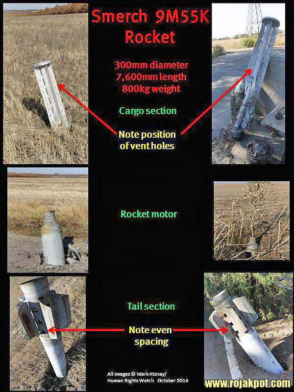 How to identify the BM-30 Smerch rocket
