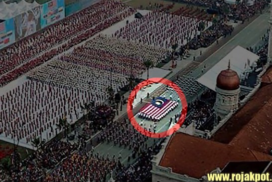 Malaysian Flag Displayed Wrongly During Merdeka Parade?