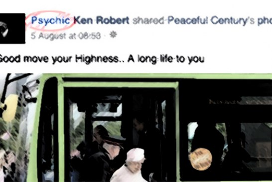 Psychic Ken Robert Is No Psychic