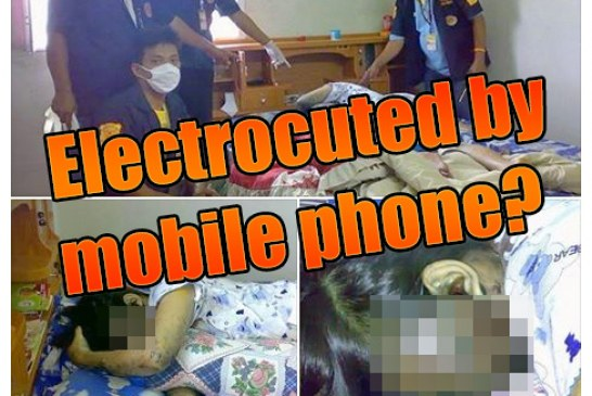 Killed By A Charging Mobile Phone? [GORE] – UPDATED!