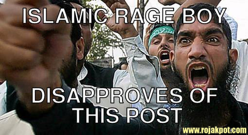 Islamic Rage Boy Meme