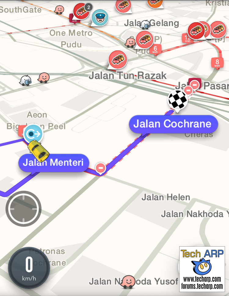 Even Waze could not take us to IKEA Cheras