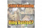 Child Kidnapped & Smuggled In A Cardboard Box