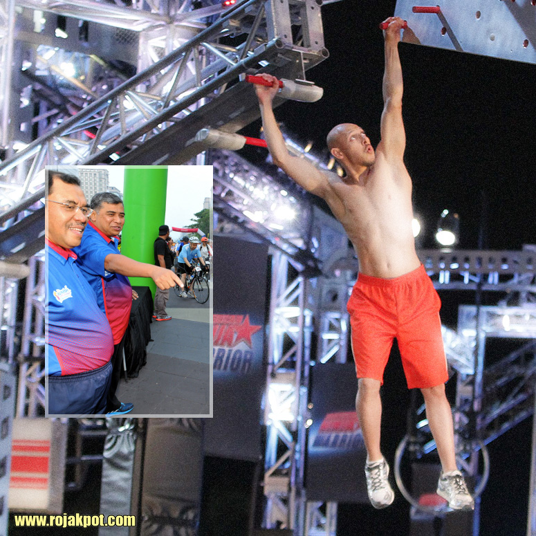 Khalid Abu Bakar vs. American Ninja Warrior