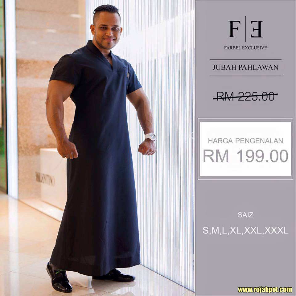 Internet Goes Crazy Over Farbel Warrior Robes / Jubah Pahlawan
