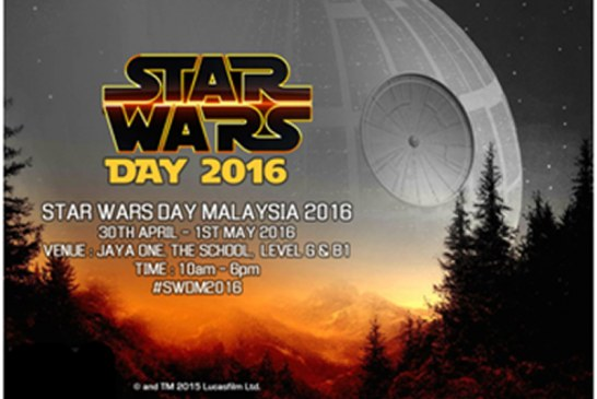 Star Wars Day Malaysia 2016 Awakens This Weekend!