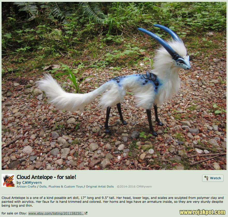Is The Cloud Antelope From Another Dimension?