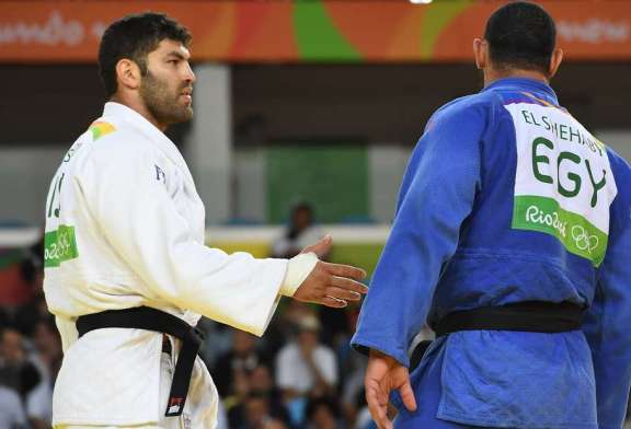 El Shehaby vs Sasson - It's Judo, Not The Six Day War!