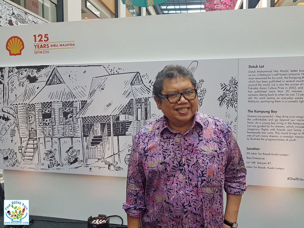 Malaysian artists - Datuk Lat 01