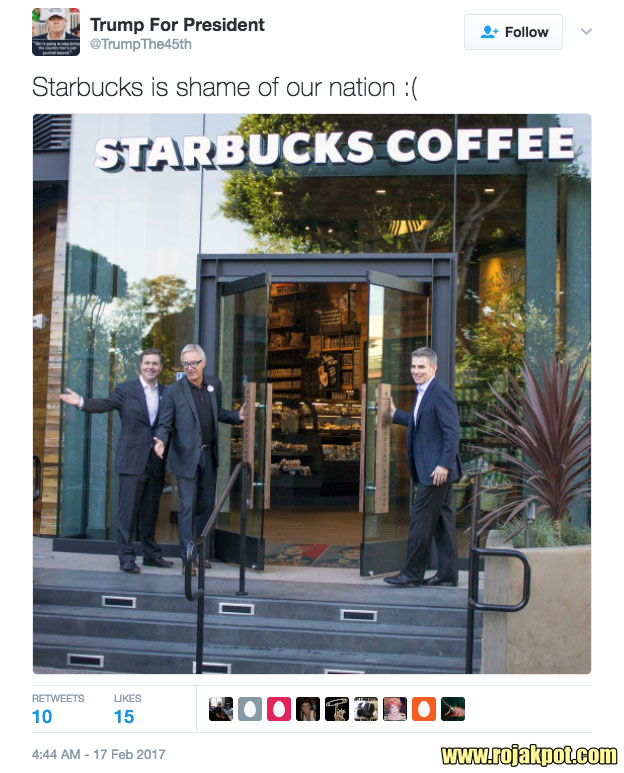 No, Starbucks Did NOT Place Trump's Photo On Floor