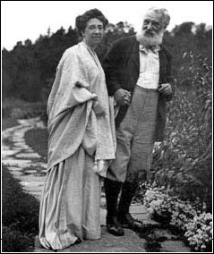 Alexander Graham Bell and Mabel Gardiner Hubbard